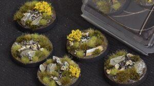 GamersGrass Highland Bases Round 40mm x5