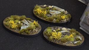 GamersGrass Highland Bases Oval 75mm x3
