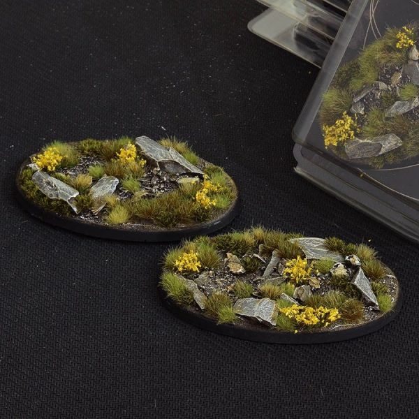 GamersGrass Highland Bases Oval 90mm x2