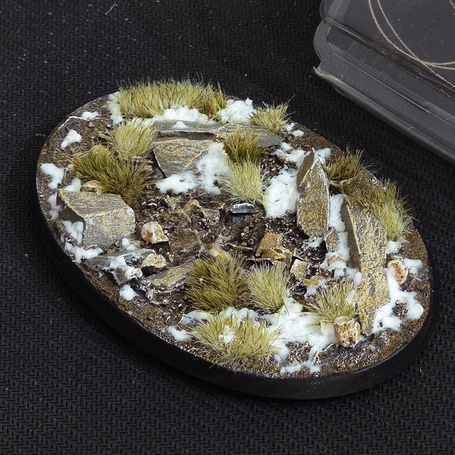 GamersGrass Winter Bases Oval 105mm x1