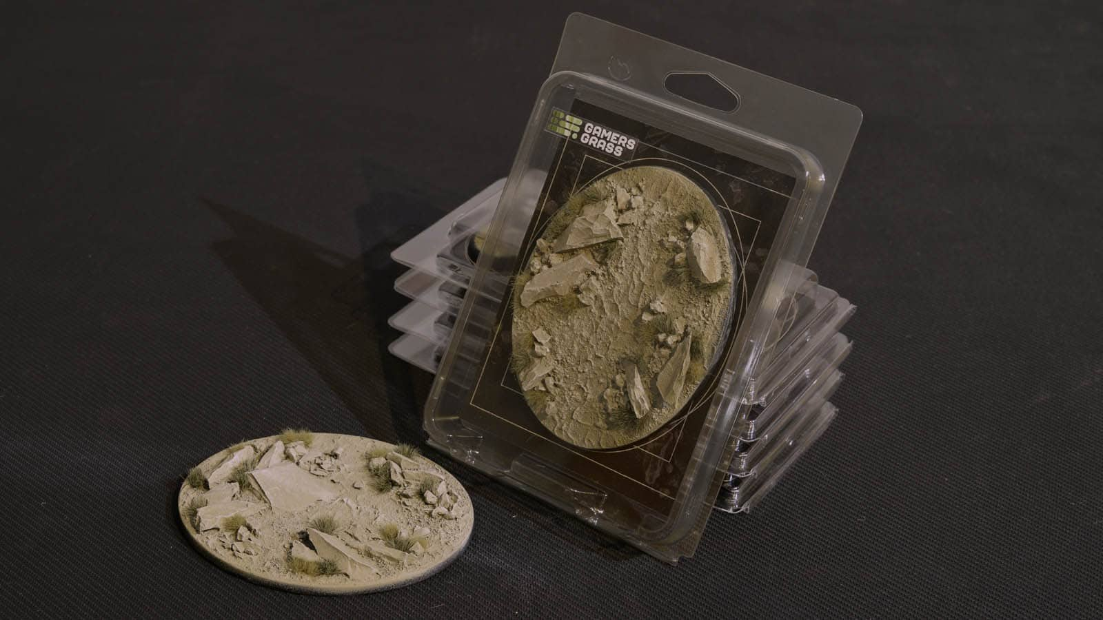 GamersGrass Arid Steppe Bases Oval 120mm x1