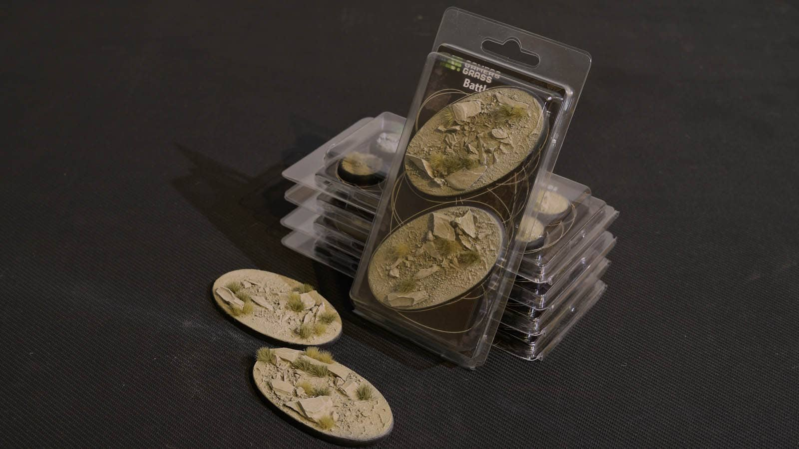 GamersGrass Arid Steppe Bases Oval 90mm x2