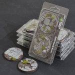 GamersGrass Temple Bases Round 60mm x2