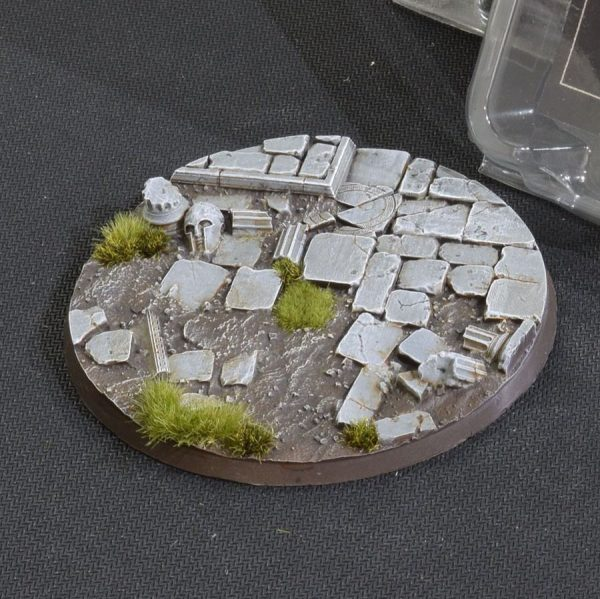 Temple Bases, Round 100mm (x1)