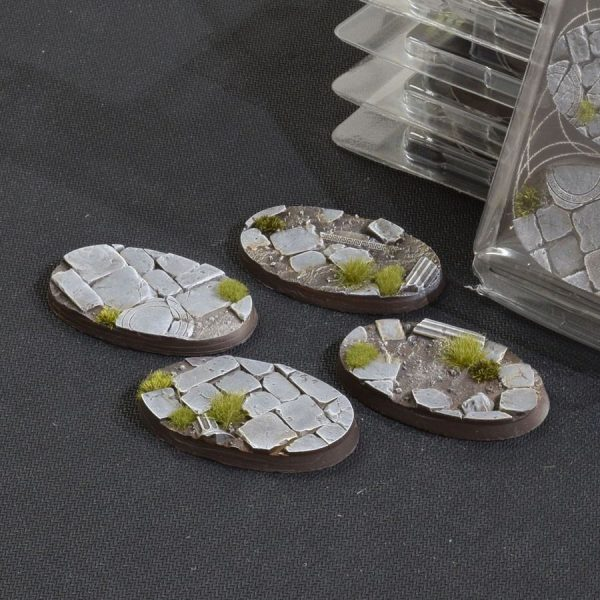 GamersGrass Temple Bases Oval 60mm x4