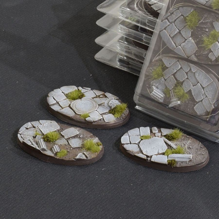 GamersGrass Temple Bases Oval 75mm x3