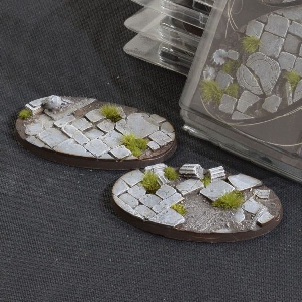 GamersGrass Temple Bases Oval 90mm x2