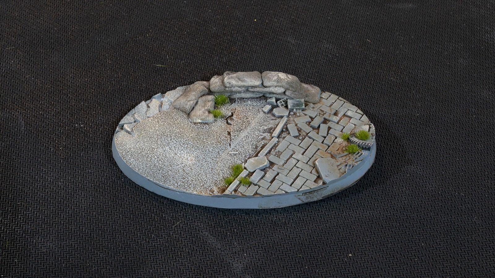 Urban Warfare Bases, Oval 105mm (x1)