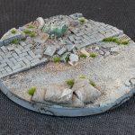 Urban Warfare Bases, Round 100mm (x1)