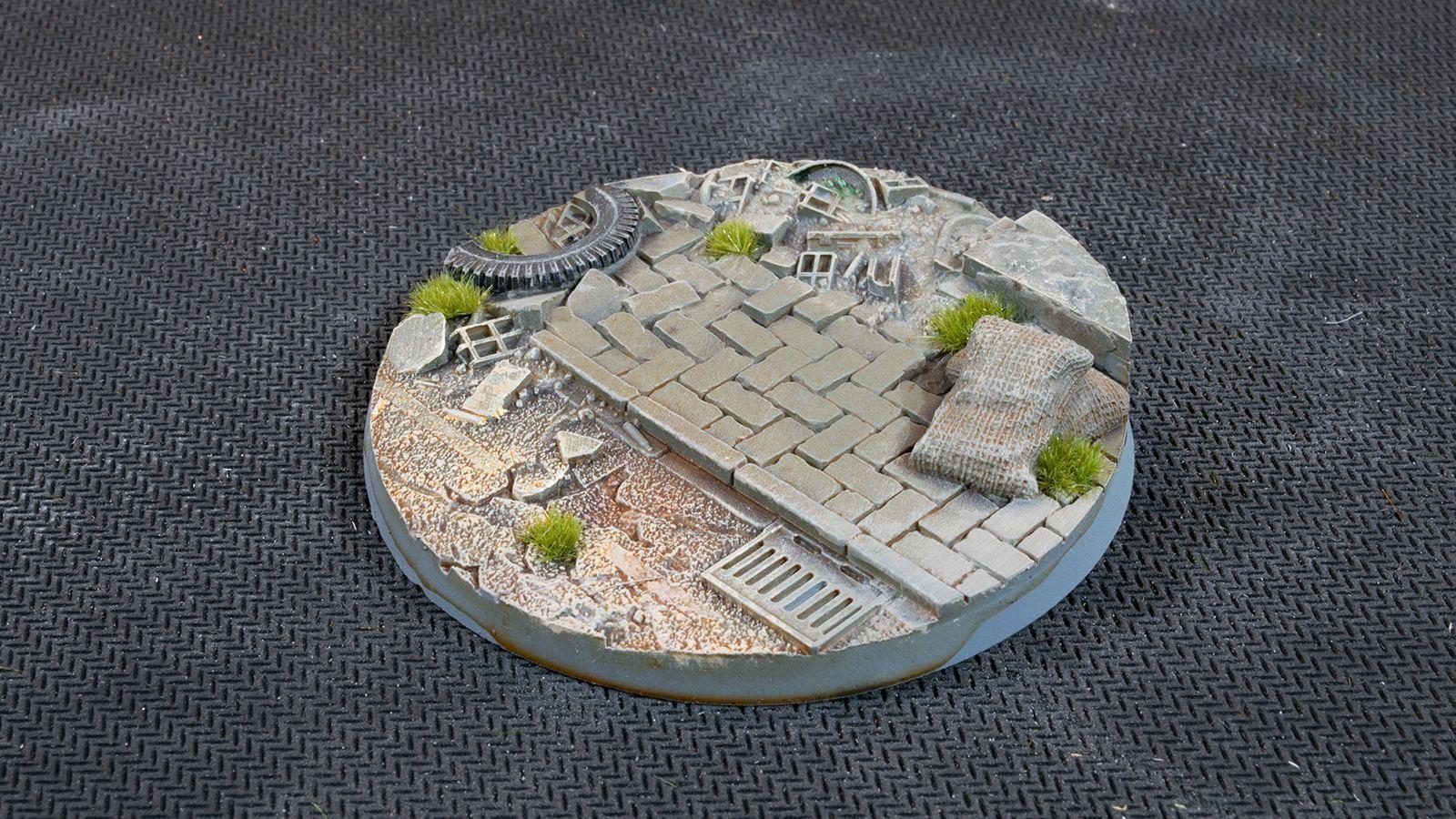 Urban Warfare Bases, Round 60mm (x2)