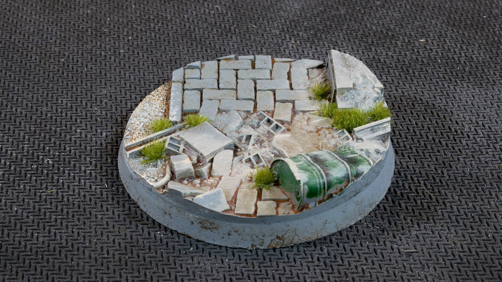 Urban Warfare Bases, Round 50mm (x3)