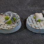 Urban Warfare Bases, Round 32mm (x8)