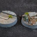 Urban Warfare Bases, Round 25mm (x10)